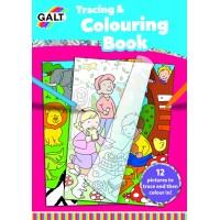 Carte de colorat Galt Copiezi si te distrezi, 12 imagini, dezvolta imaginatia