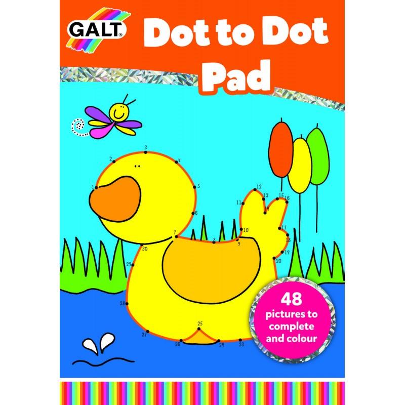 Carte de colorat Dot to Dot Galt, 5 ani+ 2021 shopu.ro