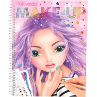 Carte de colorat Make-up Top Model Depesche, 40 pagini, Multicolor