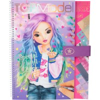 Carte de Colorat Top Model Special Design Depesche, Multicolor