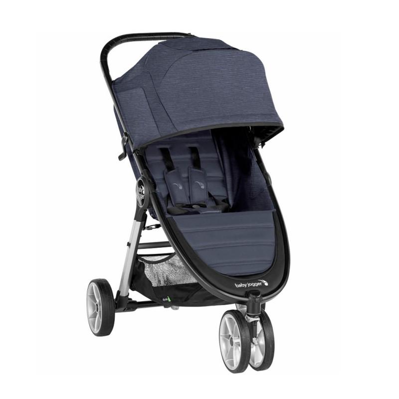 Carucior Baby Jogger City Mini 2 Carbon, centura siguranta cu prindere in 5 puncte, negru 2021 shopu.ro