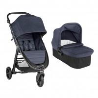 Carucior Baby Jogger City Mini GT2 Carbon, sistem 2 in 1, suporta maxim 9 kg
