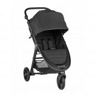 Carucior Baby Jogger City Mini GT2 Jet, capotina 3 segmente, maner confortabil, negru