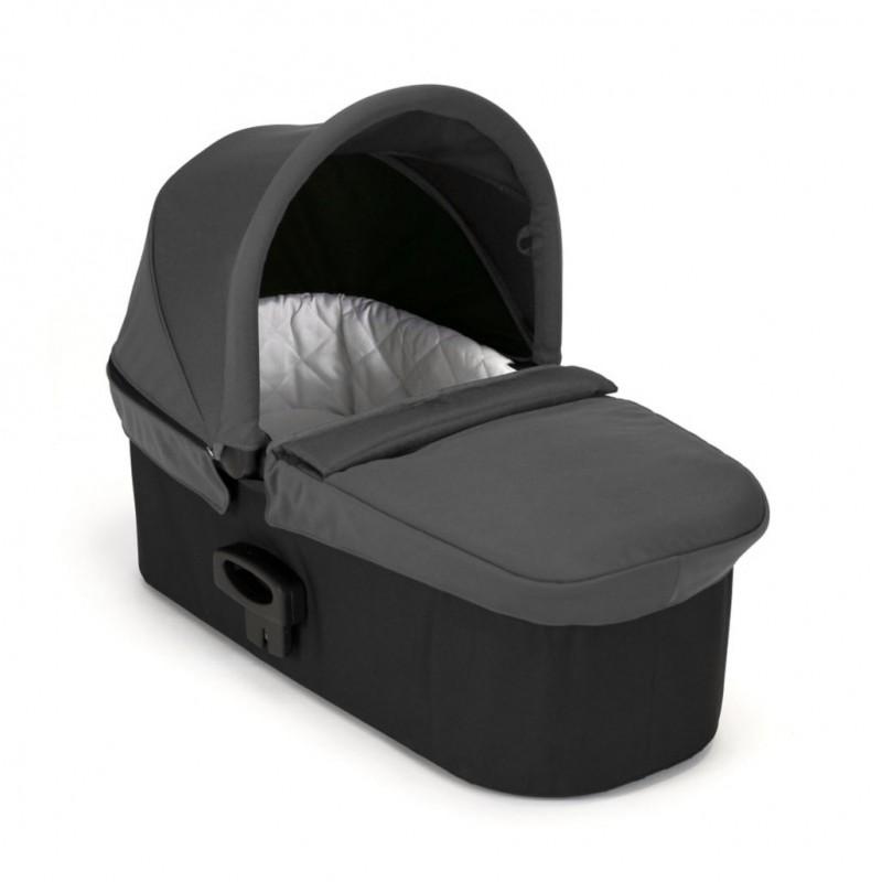 Carucior City Mini GT Charcoal Denim sistem 2 in 1 Baby Jogger, suporta maxim 9 kg, 0 luni+ 2021 shopu.ro