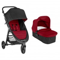 Carucior City Mini GT2 Ember Baby Jogger, sistem 2 in 1 sistem 2 in 1, maxim 15 kg, 0-36 luni, Rosu