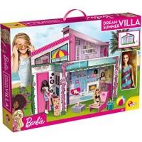 Casuta din Malibu Barbie, mobila 3D, papusa inclusa, 4 ani+