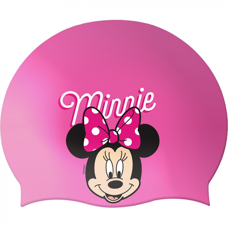Casca inot Minnie Seven, silicon, marime universala, 3 ani+, Roz 2021 shopu.ro