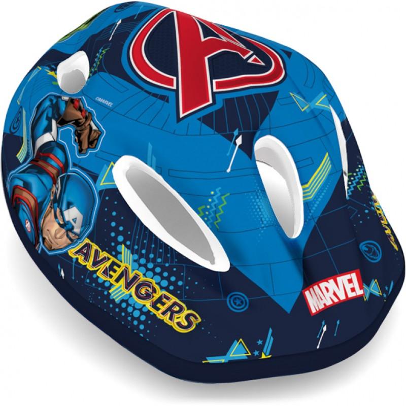 Casca de protectie Avengers Seven, 52 - 56 cm, 3 - 10 ani, Albastru 2021 shopu.ro