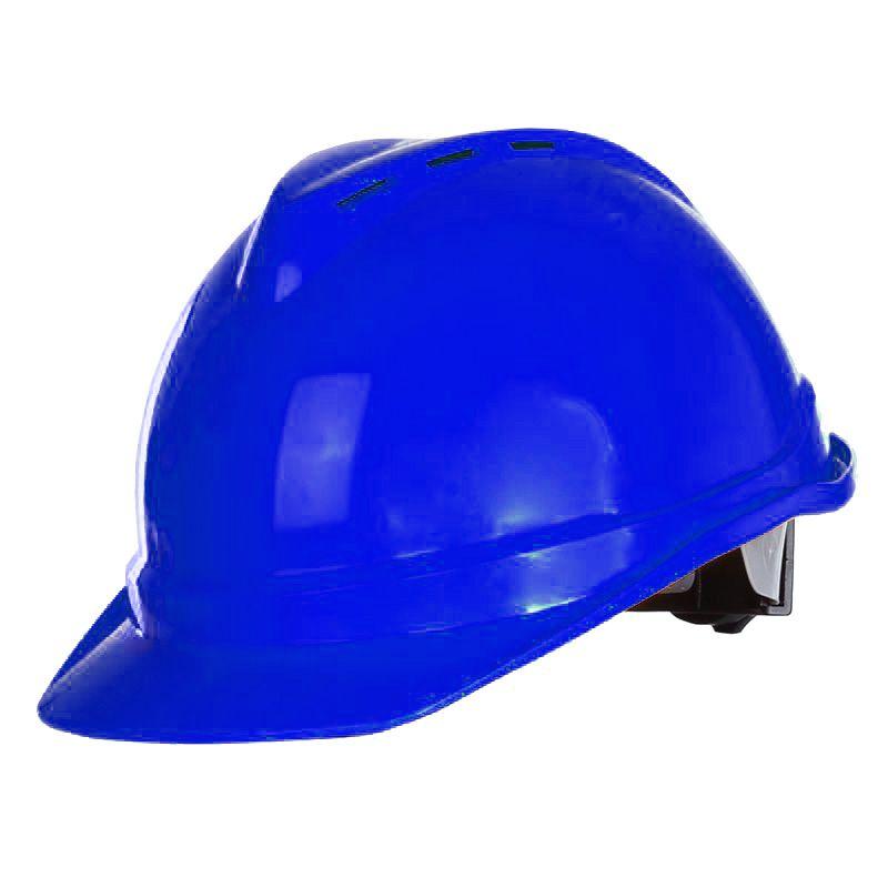 Casca protectie industriala ventilata Lahti Pro, albastru 2021 shopu.ro