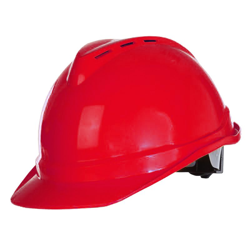 Casca protectie industriala ventilata Lahti Pro, rosu 2021 shopu.ro
