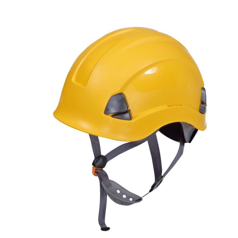 Casca protectie pentru lucrari la inaltime Lahti Pro, galben 2021 shopu.ro