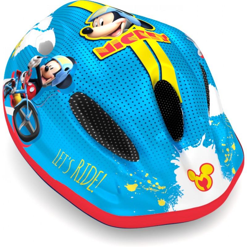 Casca de protectie Mickey Seven, 3-10 ani, albastru 2021 shopu.ro