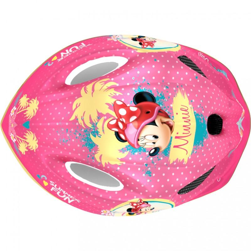 Casca de protectie Minnie Seven, 3-10 ani, roz