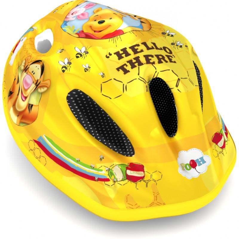 Casca de protectie Winnie the Pooh Seven, 3-10 ani, galben 2021 shopu.ro