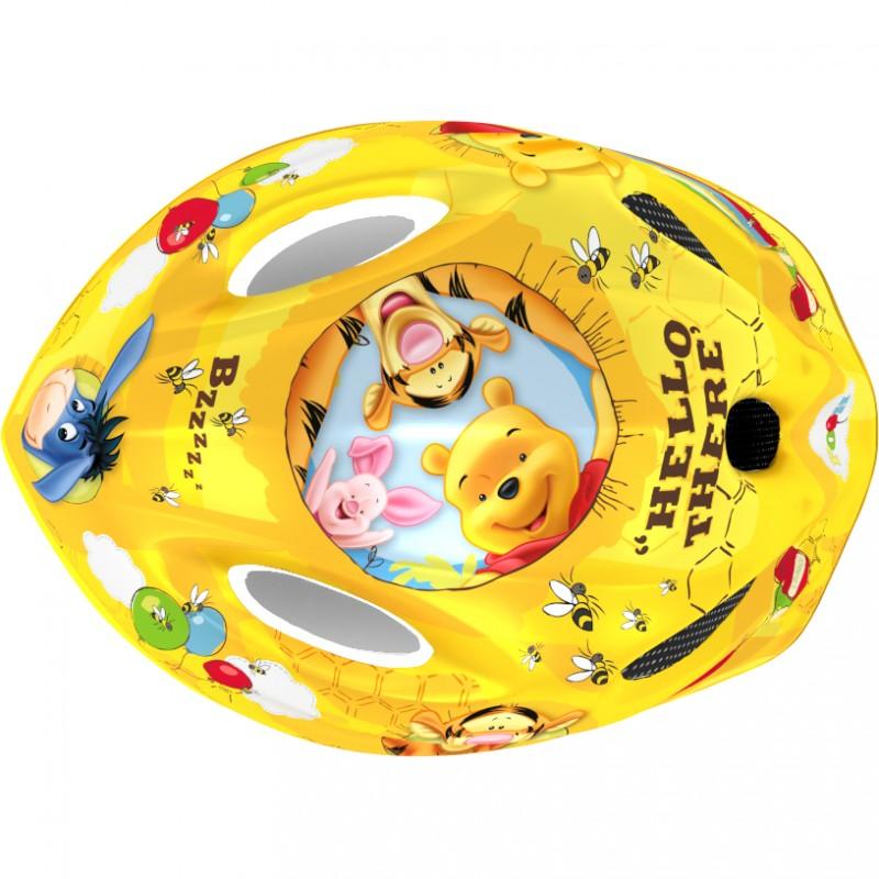 Casca de protectie Winnie the Pooh Seven, 3-10 ani, galben