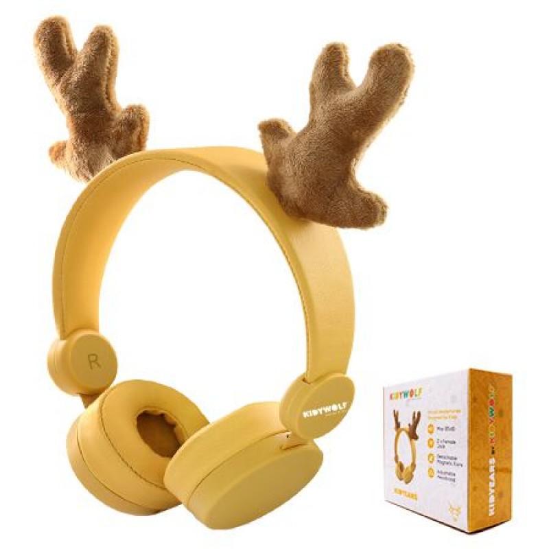 Casti audio Fashion Kids, mufa jack 3.5 mm, banda reglabila, model ren 2021 shopu.ro