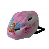 Casca protectie pentru copii Winx, canale pentru ventilare, 3 ani+