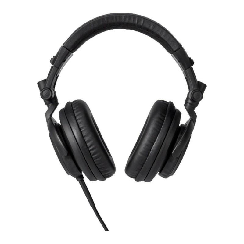 Casti profesionale pliabile DJ Ibiza Sound, 10 mW, stereo, jack 3.5 mm, Negru 2021 shopu.ro