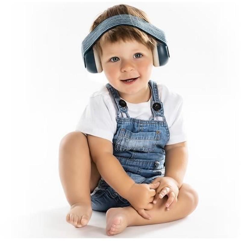 Casti antifonice Reer SilentGuard Baby Boy pentru bebelusi, 3-24 luni