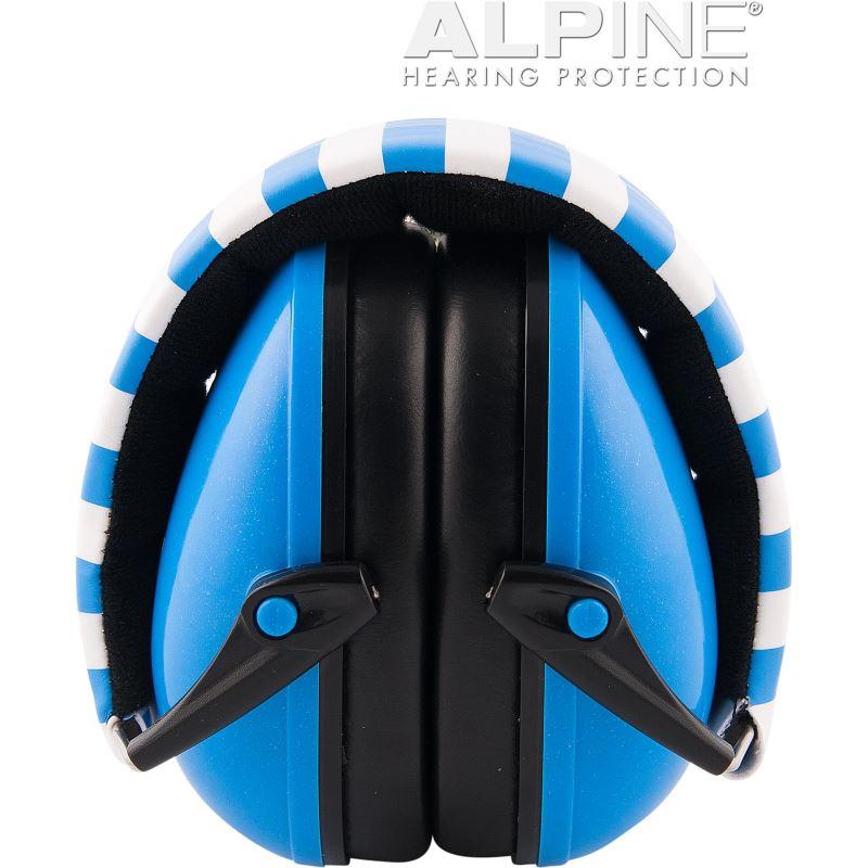 Casti antifonice pentru bebelusi Alpine Muffy, nivel atenuare 36 dB, Blue