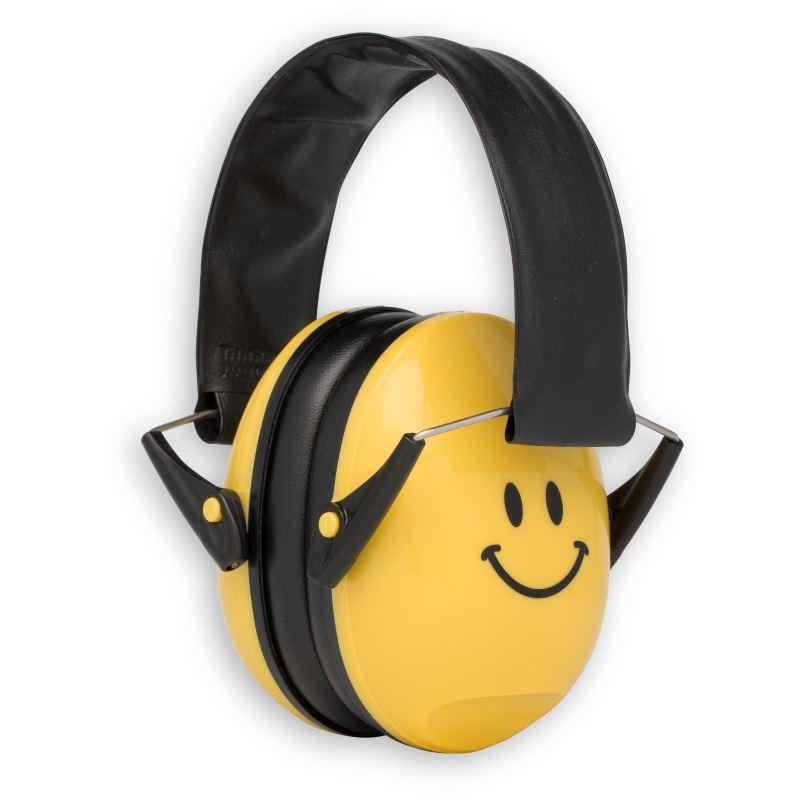 Casti antifonice pentru bebelusi Alpine Muffy, nivel atenuare 36 dB, Smile