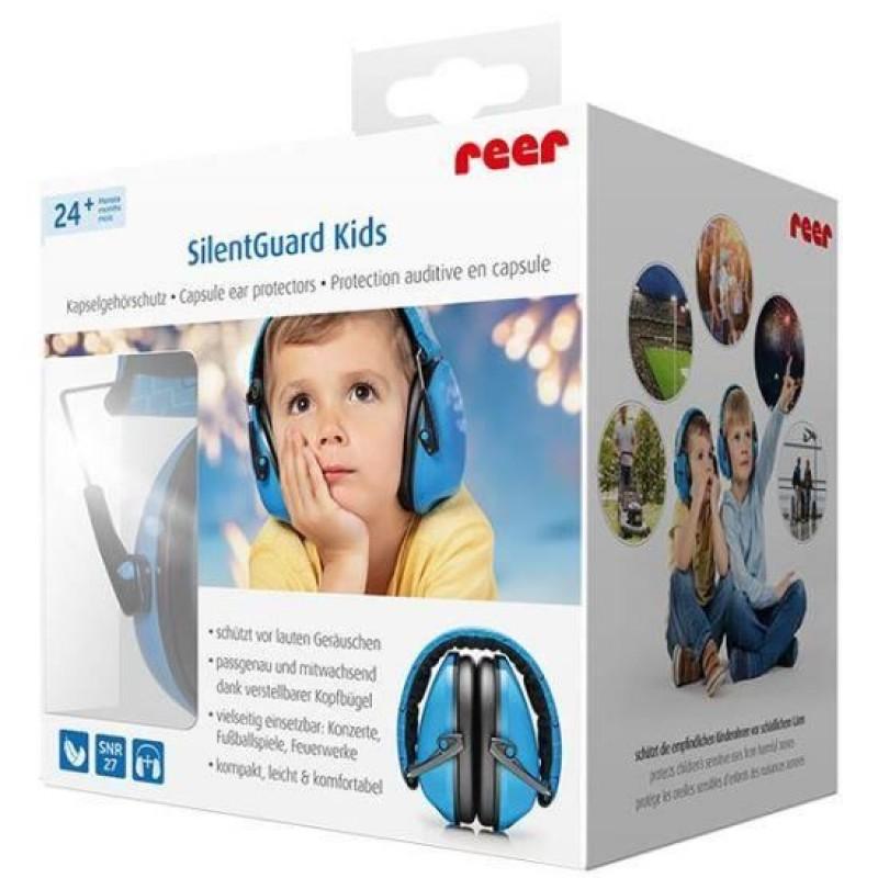 Casti antifonice Reer SilentGuard Baby Boy pentru copii, albastru