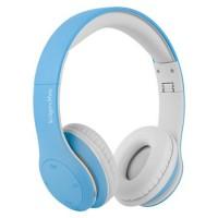 Casti audio Street Kids Kruger & Matz, tehnologie Bluetooth 4.2, microfon incorporat, Albastru