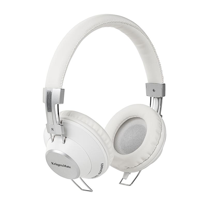 Casti Soul Kruger Matz, sunet clar si natural, cablu 120 cm, alb 2021 shopu.ro