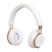 Casti Bluetooth NGS Artica Lust, autonomie 10 ore, Alb