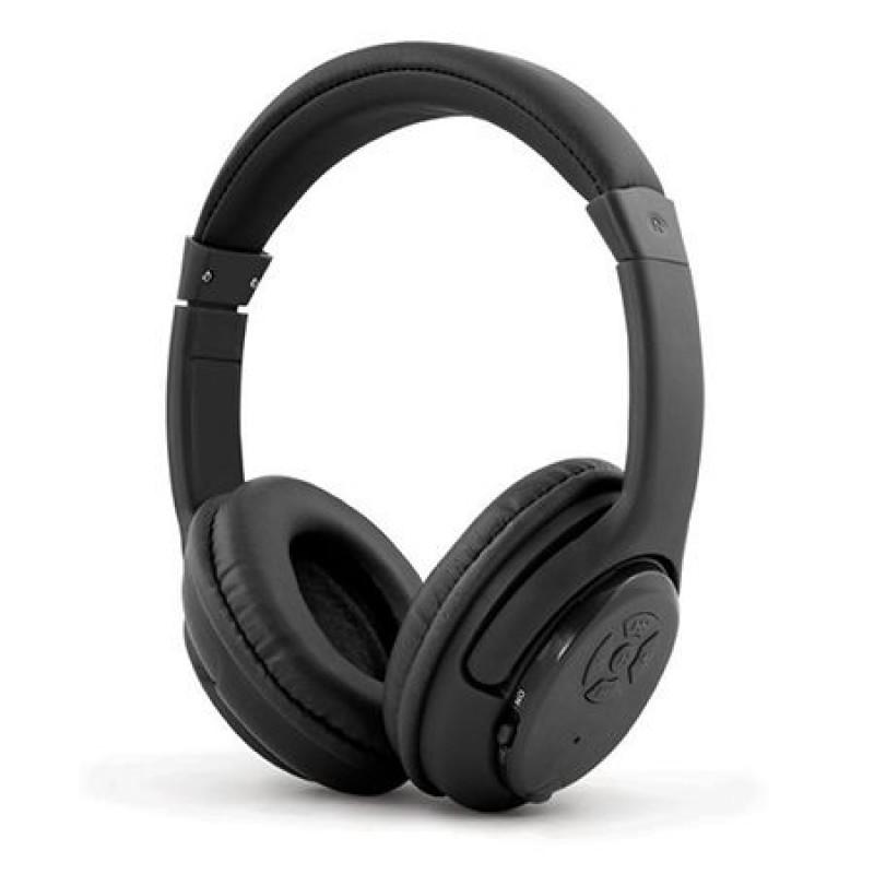 Casti Bluetooth Libero Esperanza, microfon, distanta operare 10 m, Negru 2021 shopu.ro