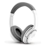 Casti Bluetooth Libero Esperanza, microfon, distanta operare 10 m, Alb/Gri