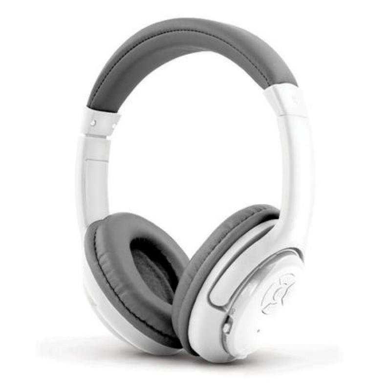 Casti Bluetooth Libero Esperanza, microfon, distanta operare 10 m, Alb/Gri 2021 shopu.ro