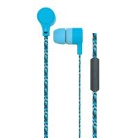 Casti Cordz Maxell, microfon incorporat, albastru