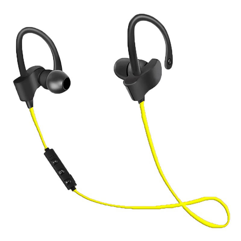 Casti sport Esperanza, Bluetooth 4.2, 1 x Micro USB, raza actiune 10 m, microfon incorporat, Galben 2021 shopu.ro