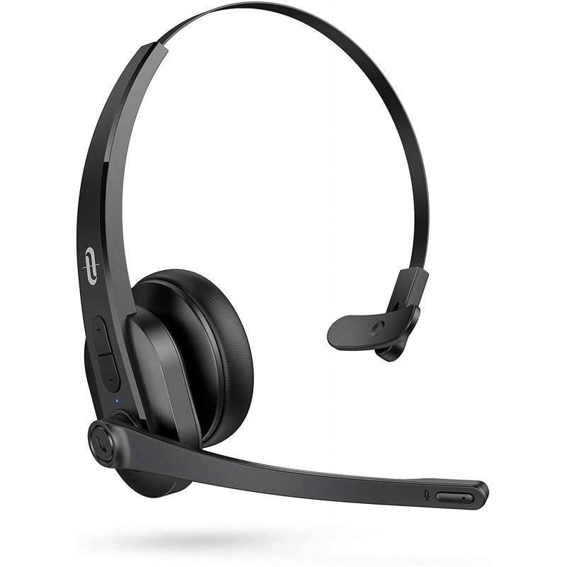 Casti wi-fi TaoTronics TT-BH04, Bluetooth 5.0, functionare 34 ore, microfon 2021 shopu.ro