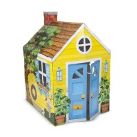 Casuta din carton Country Cottage Melissa and Doug,137 x 99 x 85 cm