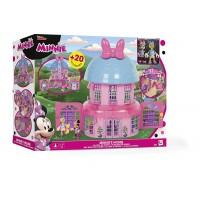 Casuta Minnie si ajutoarele abile, 2 figurine si accesorii