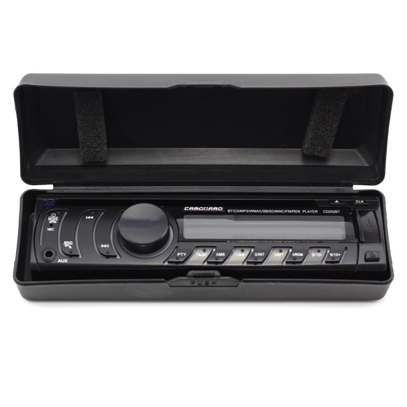 Mp3 Player auto Bluetooth Carguard, FM, USB, SD, 1 x AUX, EQ reglabil, CD player, 4 x RCA 2021 shopu.ro