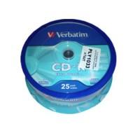 Pachet CD-R Verbatim Cake, 700 MB, 25 bucati