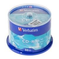 Pachet CD-R X52 Verbatim Extra Cake, 50 bucati