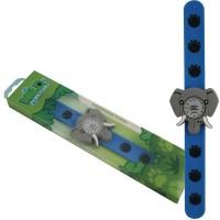 Ceas pentru copii Keycraft, 25 x 5.5 x 2 cm, silicon, 3 ani+, model elefant