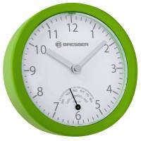 Ceas de perete cu higrometru Bresser MyTime Mini, design compact