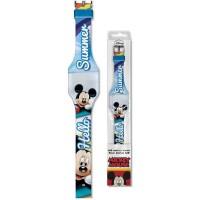 Ceas digital LED Mickey SunCity, albastru
