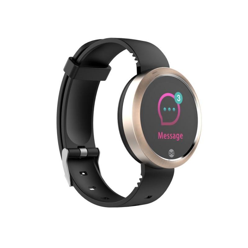 Ceas unisex Forever Smart V2, Bluetooth 4.2, 60 mAh, Rose Gold 2021 shopu.ro