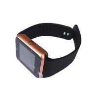Smartwatch Siegbert Smart Multifunctional iWatch, 128 MB, microUSB, camera, sincronizare SMS, redare audio/video, Auriu