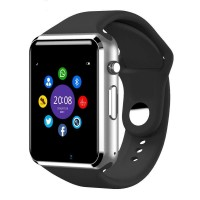 Ceas Smart multifunctional Siegbert, tip iwatch, Bluetooth, memorie 128 MB, microUSB, Negru