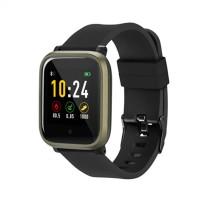 Ceas Smartwatch Acme, functie multi-sport, rezistenta IP66, sistem Android/iOS, curea silicon, Negru
