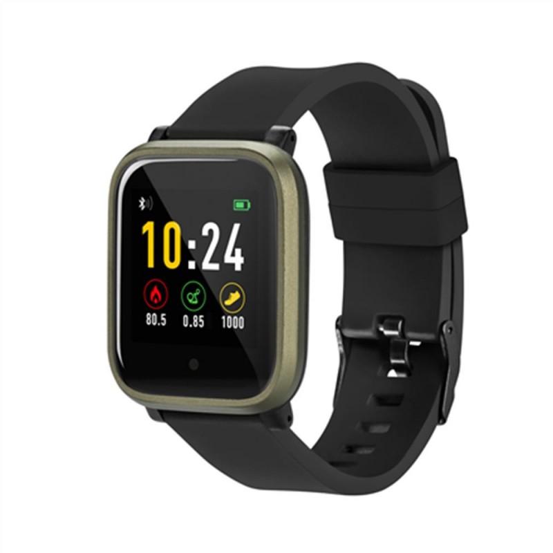 Ceas Smartwatch Acme, functie multi-sport, rezistenta IP66, sistem Android/iOS, curea silicon, Negru 2021 shopu.ro