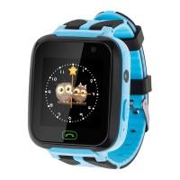 Ceas Smartwatch pentru copii Kruger Matz KM0469B, Localizare, Albastru
