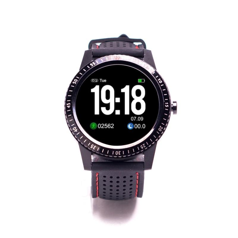 Smartwatch Smart Time 360 E-Boda, 240 x 240 px, 240 mAh, bluetooth 4.0, curea silicon, display LCD, autonomie 15 zile, IP67, Negru 2021 shopu.ro
